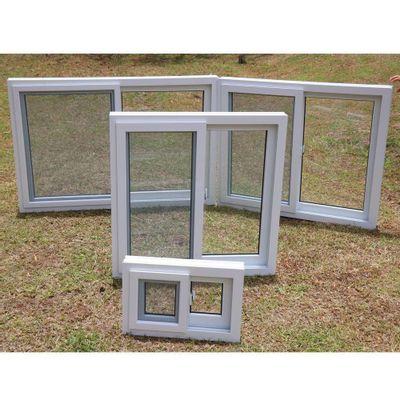 Ventana-PVC-S80-Corrediza-Con-Cedazo-Blanca---Vitreo-Varios-Tamaños
