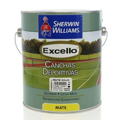 Excello-Canchas-Deportivas-Mate-Rojo-1-Gal---Sherwin-Williams