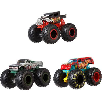 Hot-Wheels---Monster-Trucks-Die-Cast-Surtido