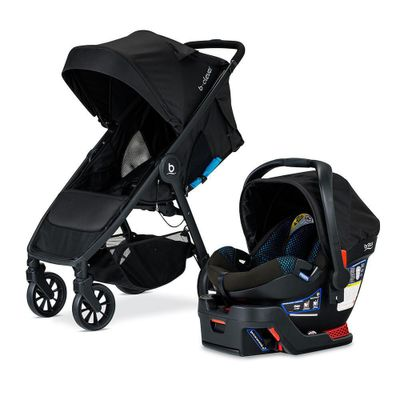 Travel-System-Be---Clever-Con-B-Safe-35-Teal-Cool-Flow---Britax