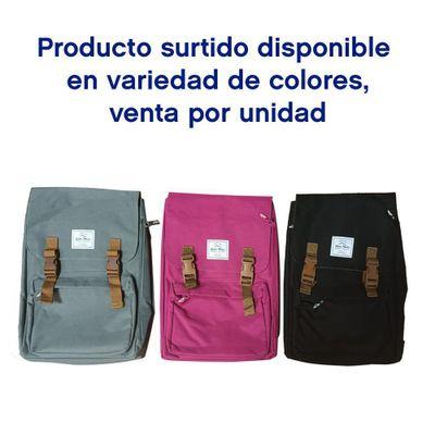 Mochila-Negra-Con-Apartado-Para-Laptop---Sierra-Madre