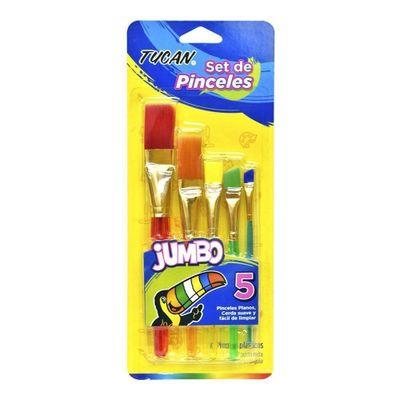 Pincel-Mixto-Transparente-Jumbo-5-Uni---Tucan