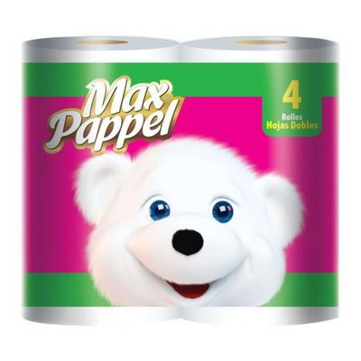 Papel-Higienico-4-Rollos-Doble-Hoja---Maxpapel