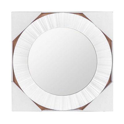 Espejo-Redondo-Blanco-51-Cm---Flor-De-Liz