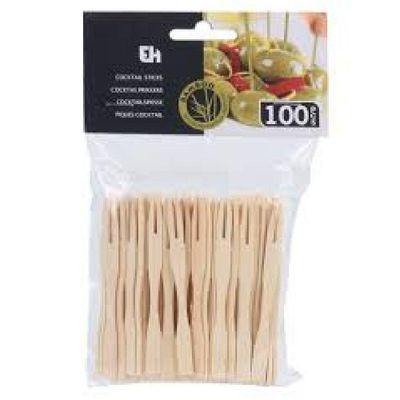 Pinchos-De-Cocktail--Hechos-De-Bambu