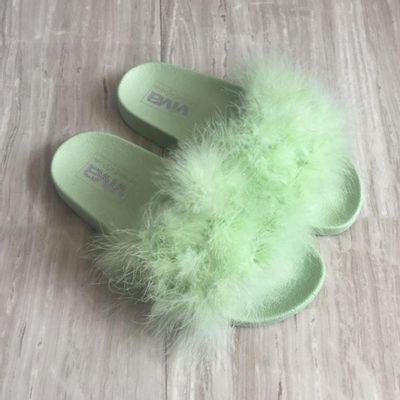 Pantufla-Fur-Green---Viva-Fresh-Varias-Tallas