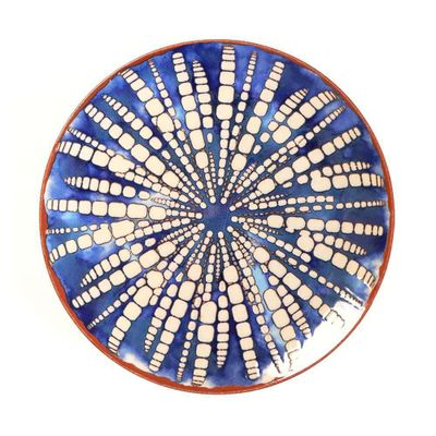 Plato-Base-32-Cm-Azul-Bambu---Niu-Haus