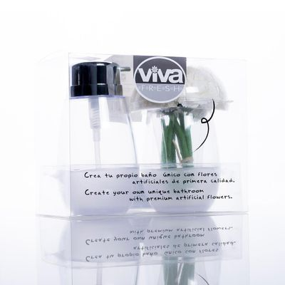 Dispensador---Vaso-Para-Baño---Buque---Viva-Fresh-Varios-Colores
