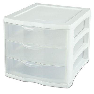 Organizador-De-Plastico-Pequeño-3-Gavetas---Sterlite