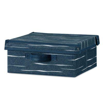 Caja-Con-Tapa-W33Xd28Xh15-Azul-Lineas---Elements