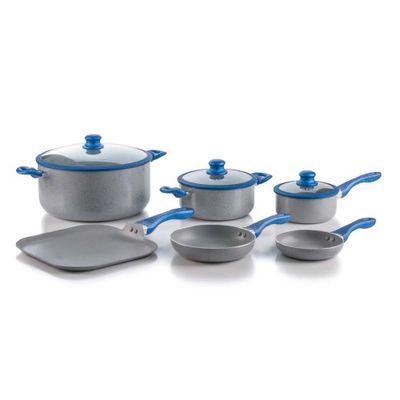 Bateria-De-Cocina-9-Pzs-Marmol-Gris-Y-Azul--Picca