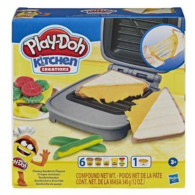 Play-Doh-Kitchen-Sandwechera-Divertida
