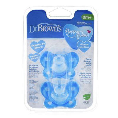 Pacificador-Silicon-Happypaci-N1-Azul-2P---Dr.-Browns