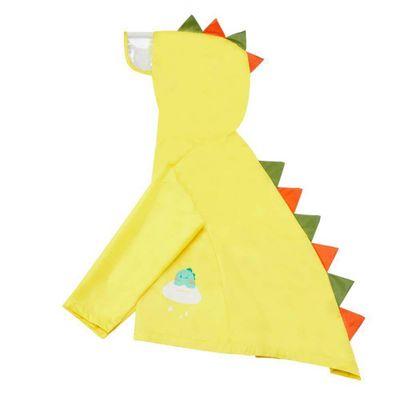 Capa-Para-Lluvia-Dinosaurios-Amarillo-5-A-6-Años--Koala