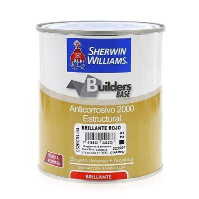 Builders-Base-Anticorrosivo-2000-Estructural-Brillante-Rojo-1-4-Gal---Sherwin-Williams