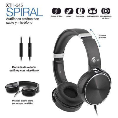 Headset-Para-Gaming-Alambrico-Spiral-Xtech
