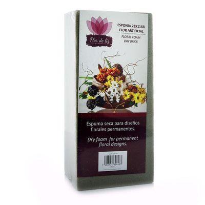 Esponja-23X11X8-Flor-Artificial---Flor-De-Liz