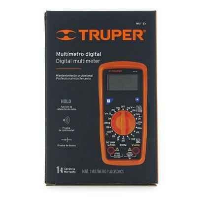 Multimetro-Digital-Profesional---Truper