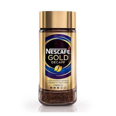 Cafe-Instantaneo-Gold-Descafeinado-Frasco-100g---Nescafe