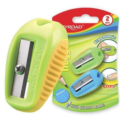 Keyroad-Sacapuntas-Nugget-1-Aguj-Soft-Touch-Blister-2-Pcs