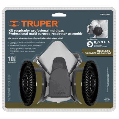 Respirador-Profesional-Con-2-Filtros-Para-Vapores-Organicos----Truper
