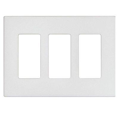 Placa-Decorativa-Plus-3-Gang-Blanca---Leviton