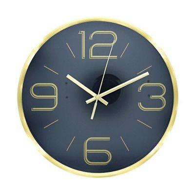 Reloj-Pared-25.20X4.20-Cm-Circular---Flor-De-Liz-Varios-Colores