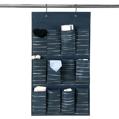 Organizador-12-Bolsas-W46Xh84-Azul-Lineas---Elements