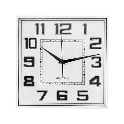 Reloj-De-Pared-28.30X4.10X28.30---Flor-De-Liz