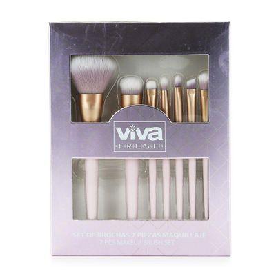 Set-De-Brochas-7-Piezas-Maquillaje---Viva-Fresh