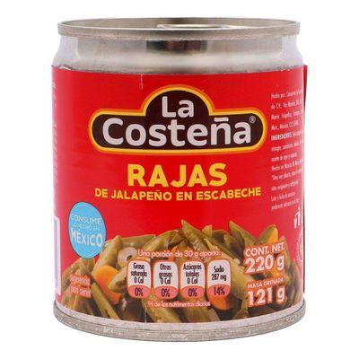 La-Costeña-Jalapeño-Raja-220G---La-Costeña