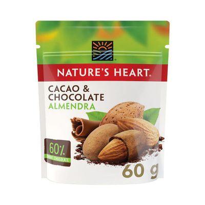 Cacao---Chocolate-Almendra-Snack-Bolsa-60g---Nature-s-Heart