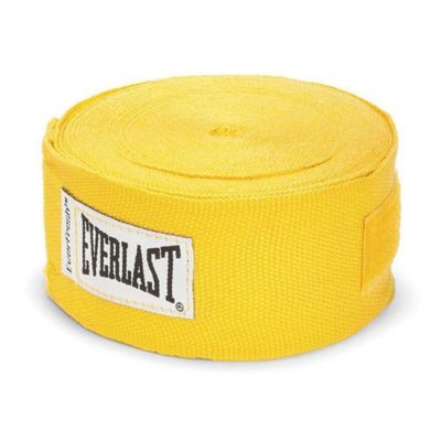 Venda-De-Boxeo-180-Con-Spandex-Amarillo---Everlast