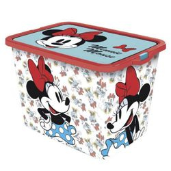 Caja-Plastica-Con-Clips-De-Minnie-23-Litros---Disney