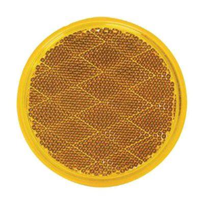 Reflector-Plastico-3-Plg-Ambar---Pm