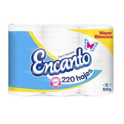 Papel-Higienico-12-Rollos-220-Hojas---Encantos