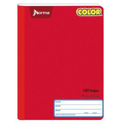 Cuaderno-Cosido-Blanco-College-Norma-Color-100H-C7
