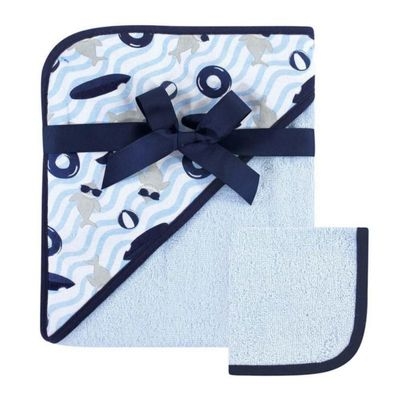 Print-Woven-Hooded-Towel---Blue