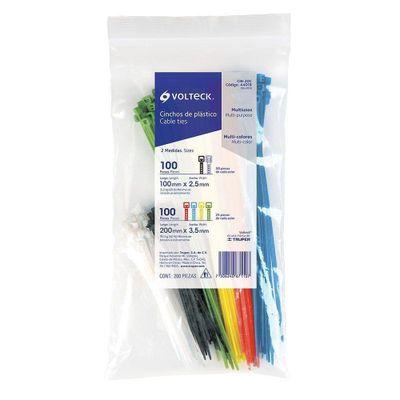 Cincho-Plastico-Colores-Bolsa-Con-200-Pi---Volteck