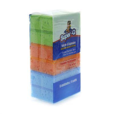 6-Pack-Esponjas-De-Cocina---Super-Q