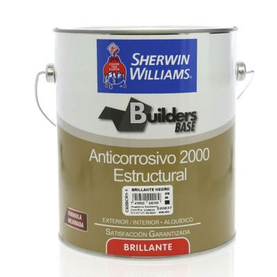 Builders-Base-Anticorrosivo-2000-Estructural-Brillante-Negro-1-Gal---Sherwin-Williams