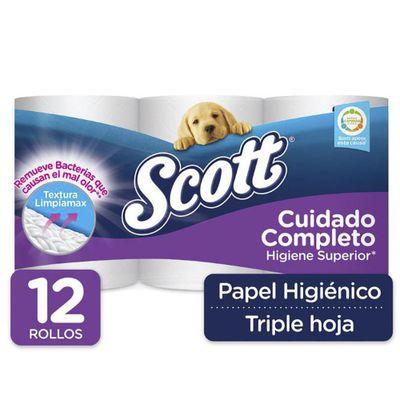 Papel-Higienico-12-Rollos-Triple-Hoja-Cuidado-Completo---Scott