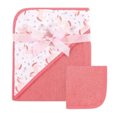 Print-Woven-Hooded-Towel---Pink