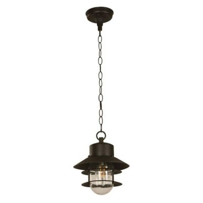 Lamp.-Techo-E27-1L-40W-Acab.-Negro