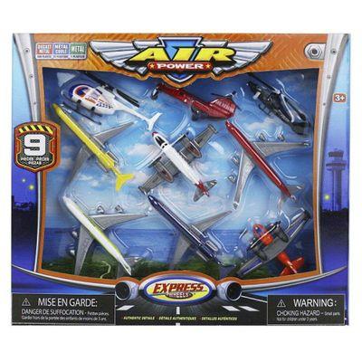 Air-Power---Pack-De-9-Aeronaves