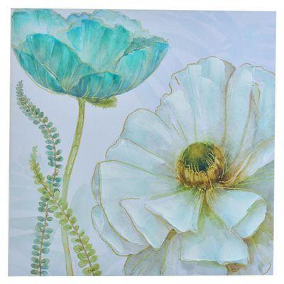Cuadro-Flor-Blanca-Y-Azul-60X60X2.5-Cm---Concepts