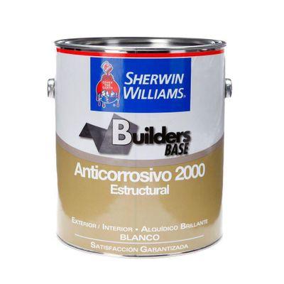 Builders-Base-Anticorrosivo-2000-Estructural-Brillante-Blanco-1-Gal---Sherwin-Williams