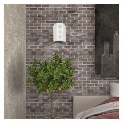 Lamp.--Pared-E14-1L-60W--N-B--Acab-Satin