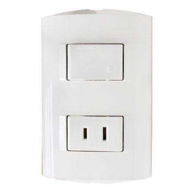 Interruptor-Sencillo-1-15R-Modus-Style---Bticino-Varios-Colores