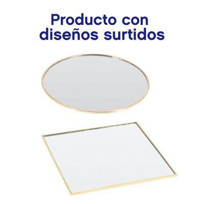 Plato-Espejo-15-Cm-Oro